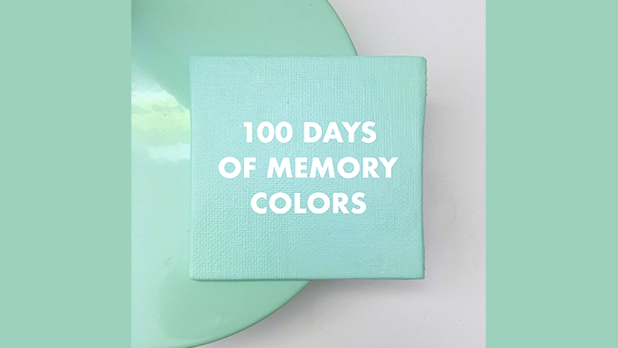 Memory colors 100 day project