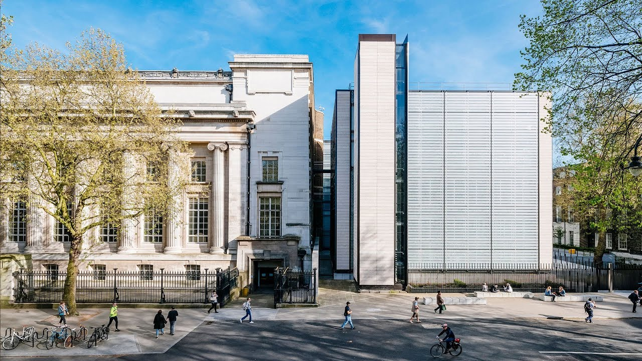 Copy of British Museum World Conservation and Exhibitions Centre by Rogers Stirk Harbour