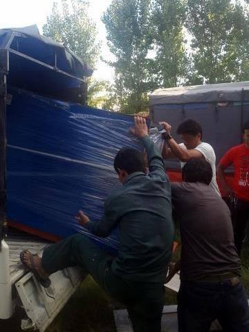 brick making machines arrive from China.jpg