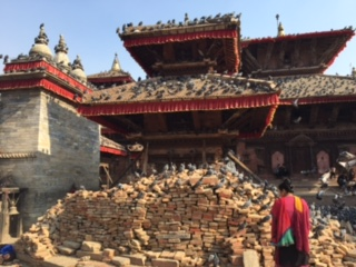 Repairing earthquake damage