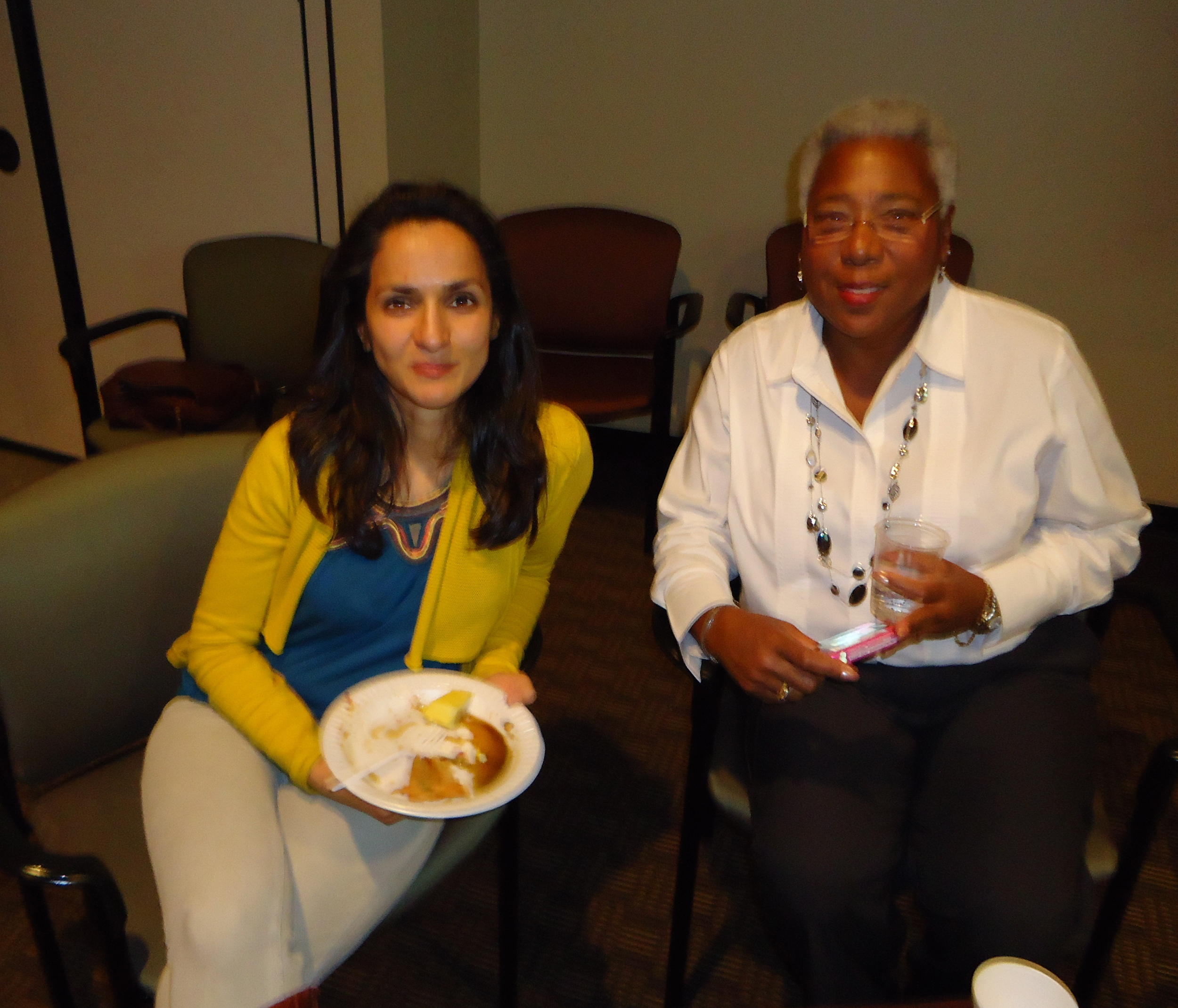 Geeta & Deborah March 2012.jpg