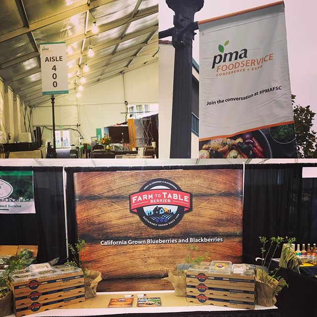 2017 PMA Conference & Expo #farmtotableberries #blueberries #blackberries