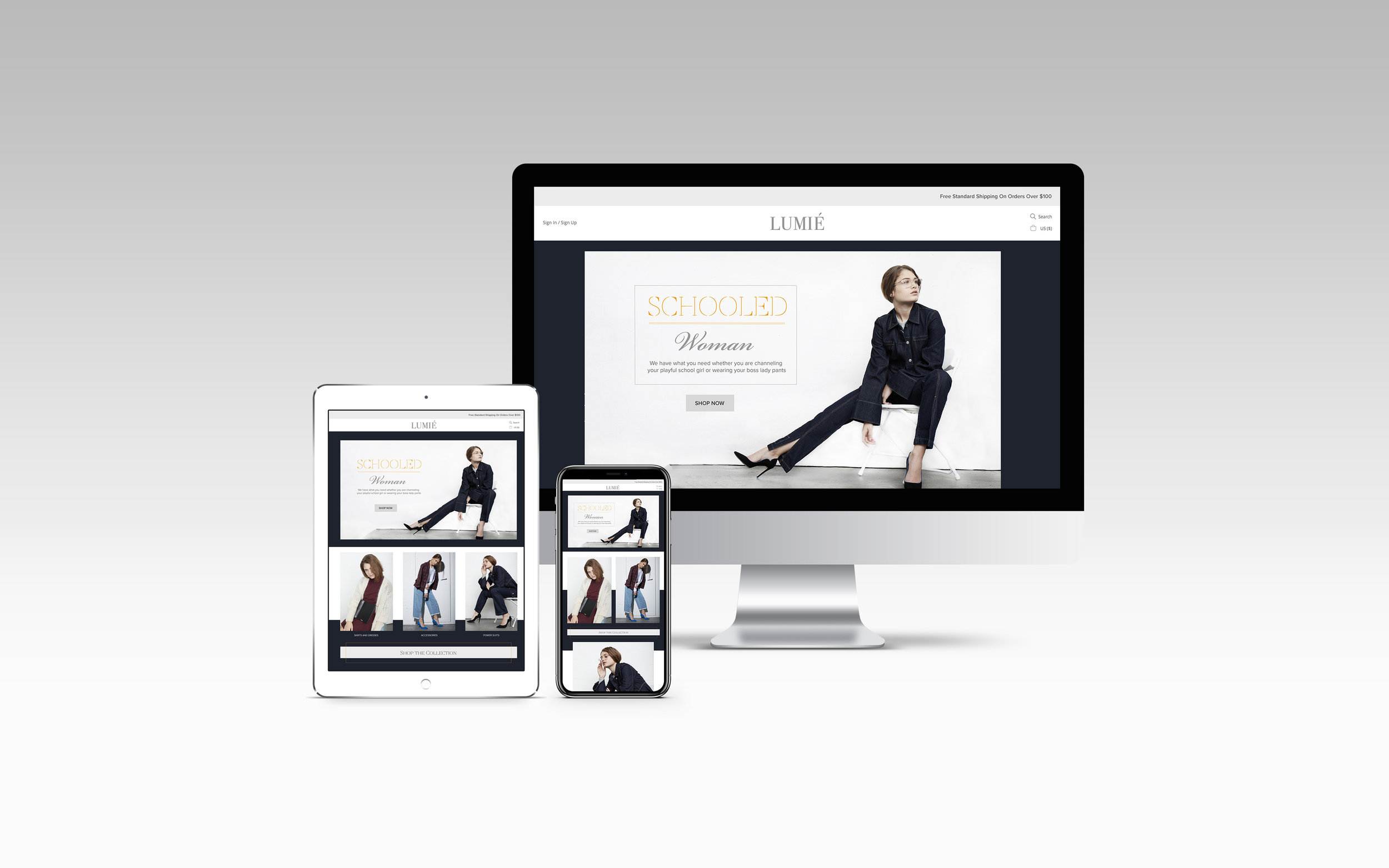 'Fashion Website'