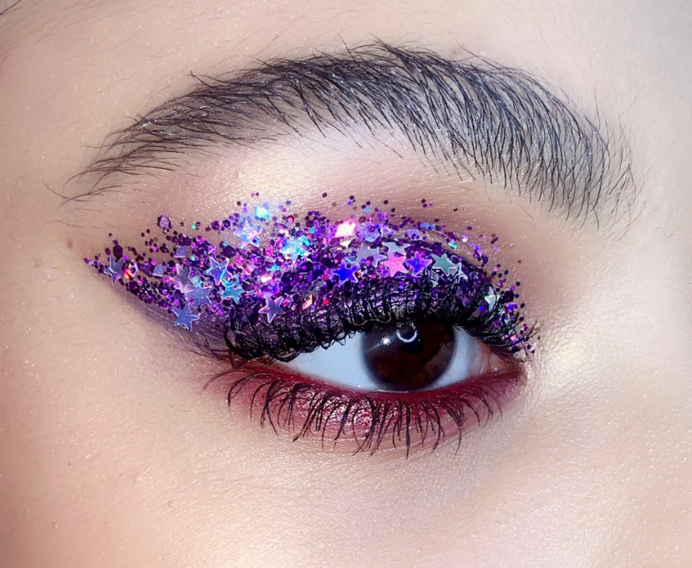 LOTSTAR Spacejam® + STARDUST Naked Glitter - Makeup by  @marygenemua
