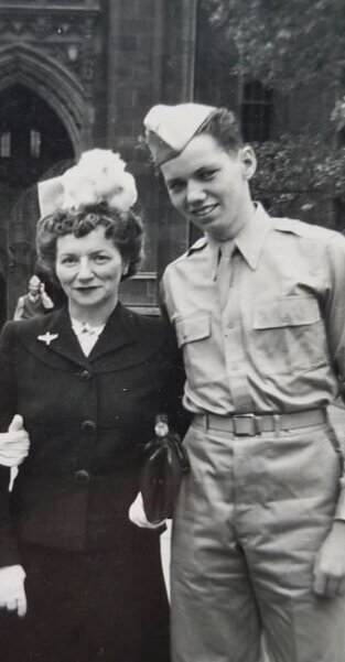My Dad with Nanny
