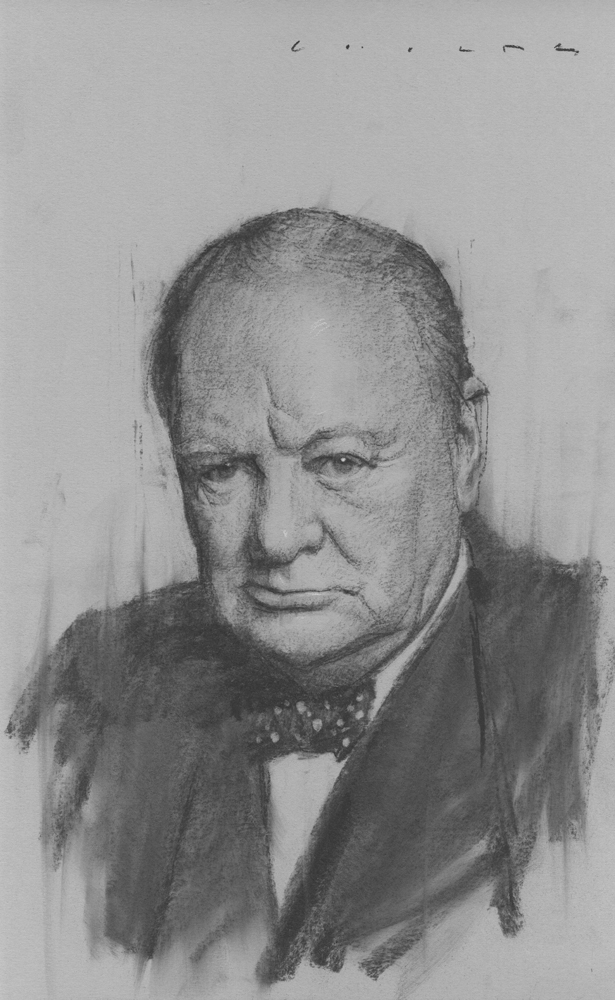 Winston Churchill    Print Available from Studio550 Press