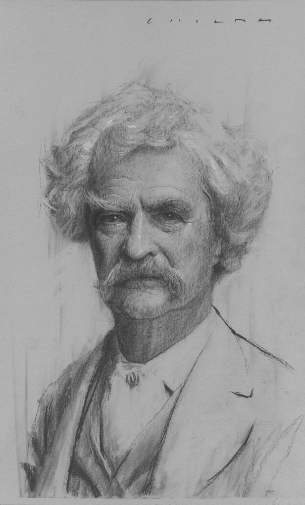 Mark Twain    Print Available from Studio550 Press