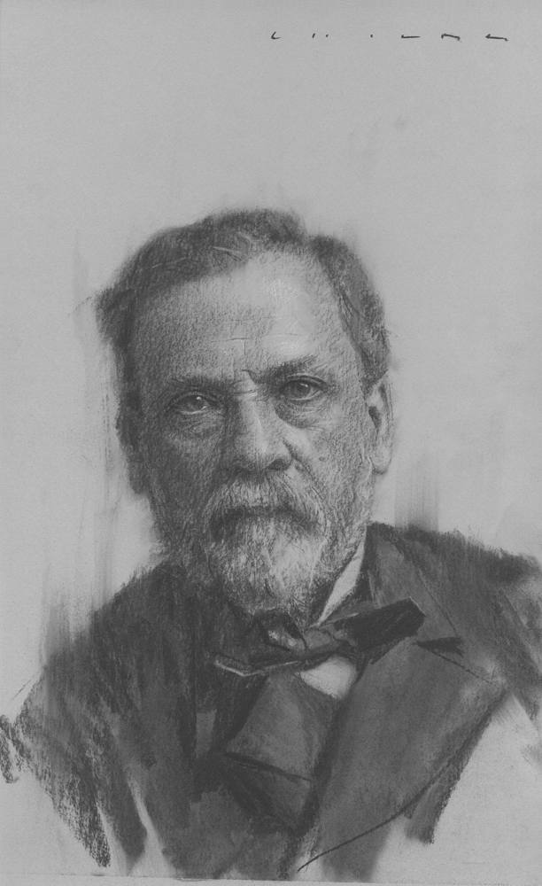 Louis Pasteur    Print Available from Studio550 Press