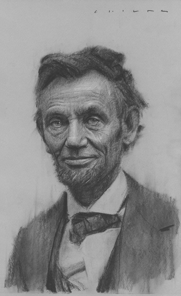 Abraham Lincoln   Print Available from Studio550 Press