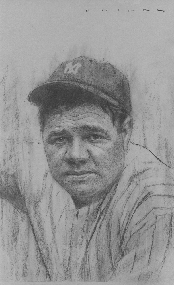 Babe Ruth  Available from Studio550 Press