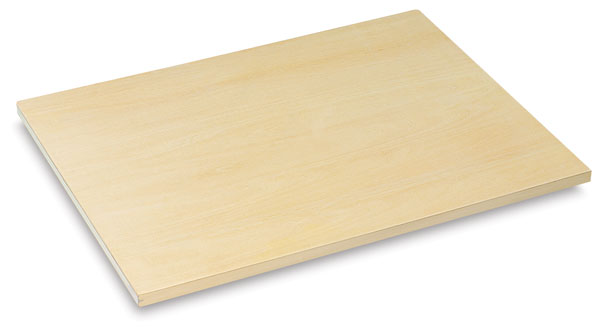 Drawing board with straight edge
