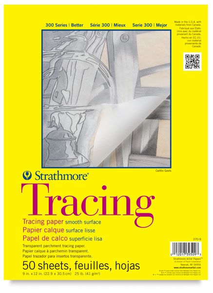 """Tracing paper 11"""" x 14"""" to 18"""" x24"""""""
