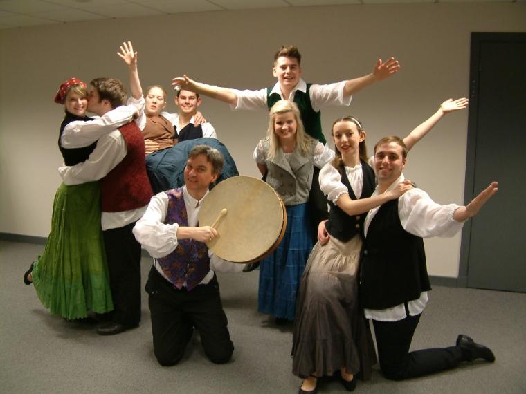 Phoenix Theatre's Titanic corporate entertainment dancers