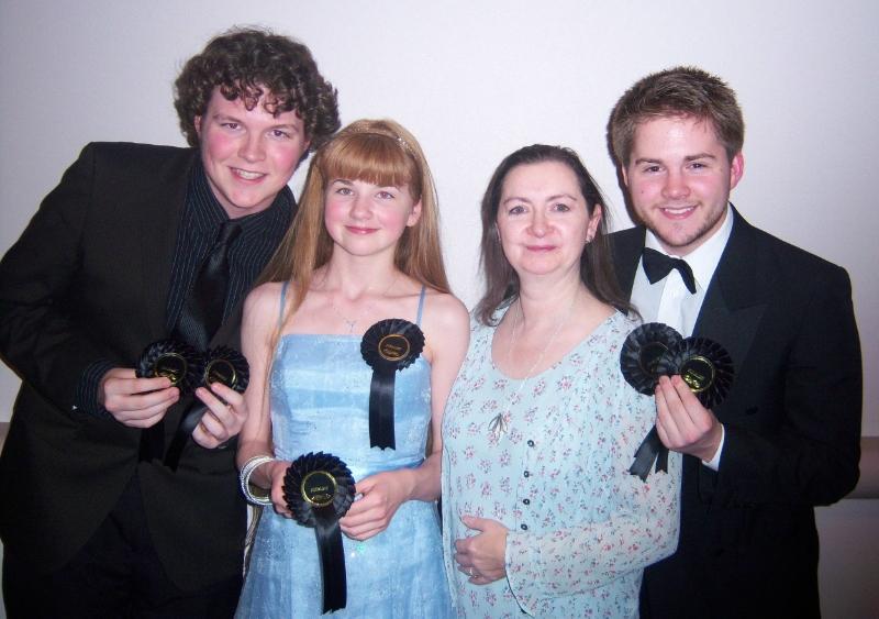 Phoenix Theatre and Phoenix Youth award winners in Paris