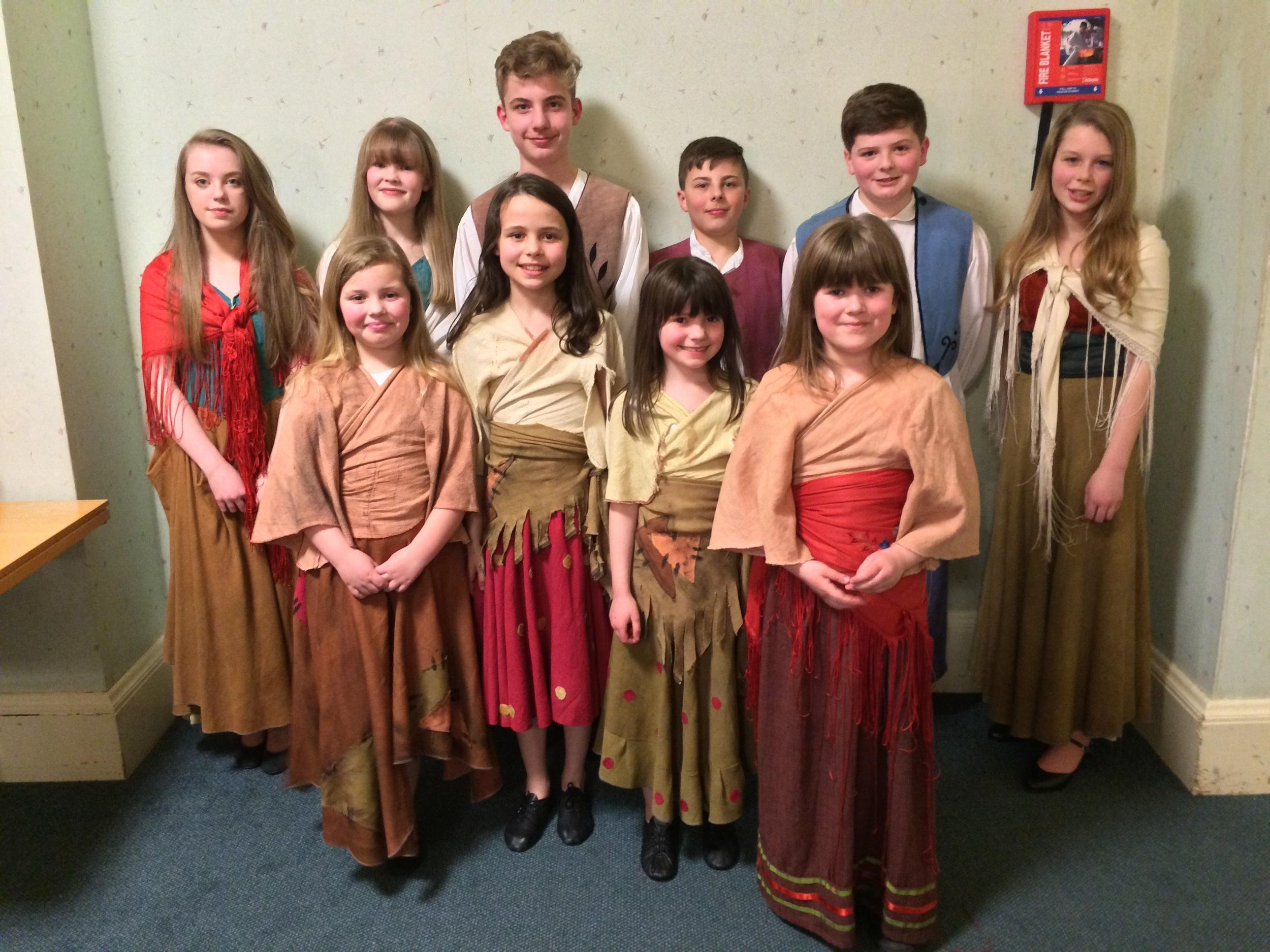 Phoenix Youth Theatre children in Bizet's Carmen with Ellen Kent Opera