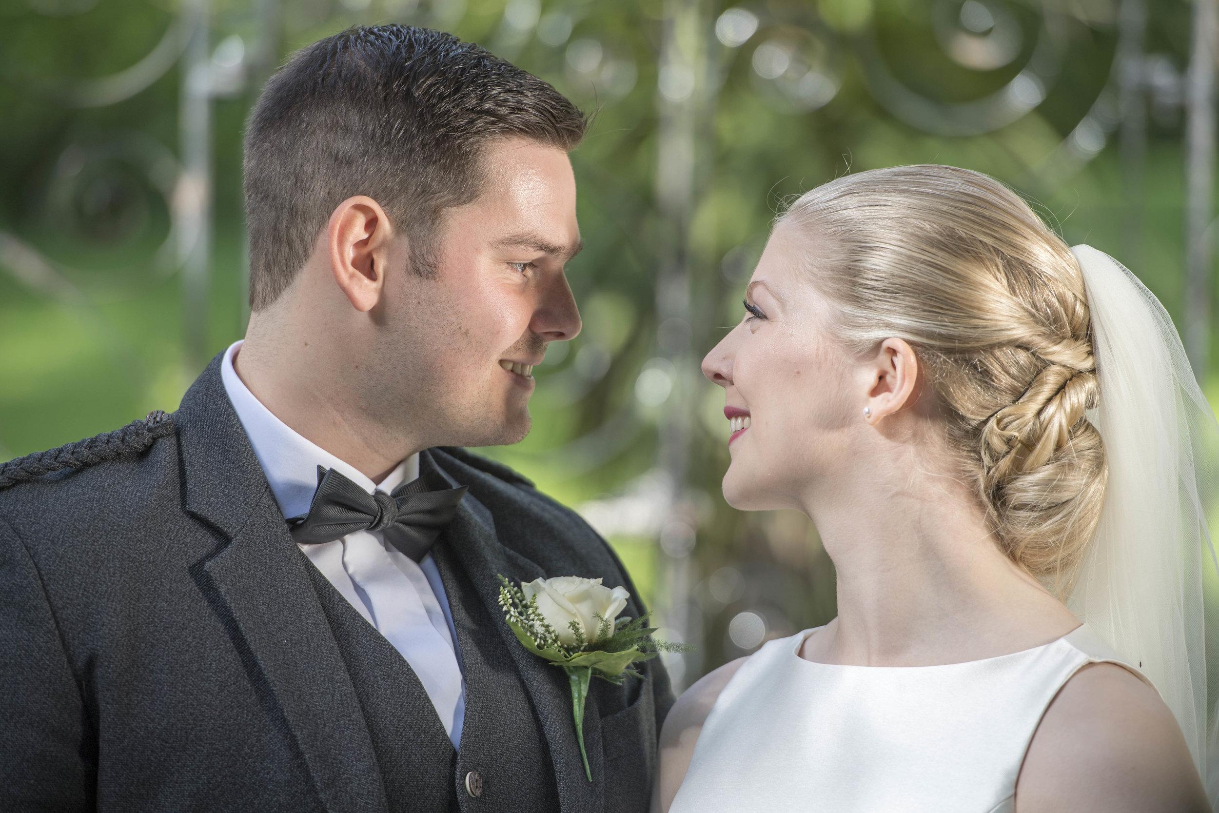 The wedding of Phoenix Theatre actors Ian and Katie Baxter