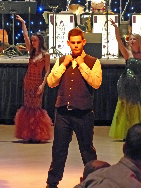 Phoenix Theatre's Ian as one of our James Bond dancers at Aberdeen Beach Ballroom