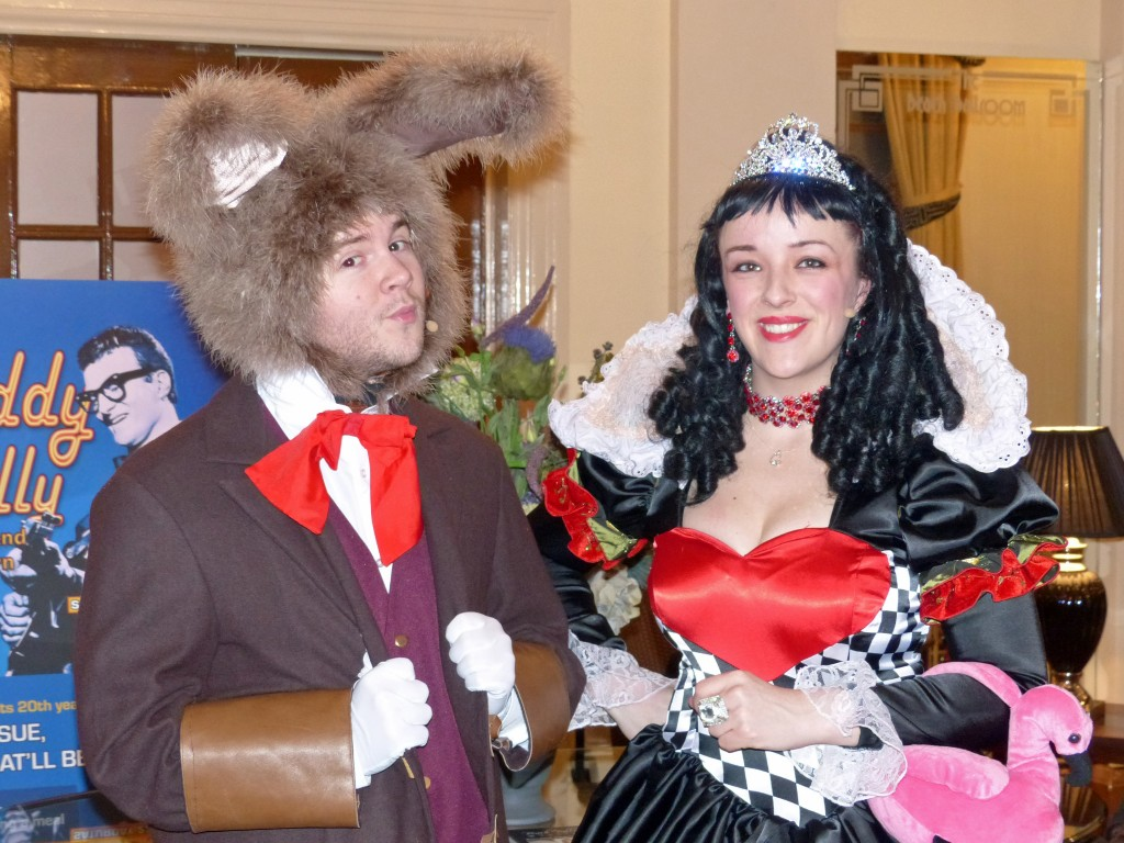 Phoenix Theatre's March Hare and Queen of Hearts