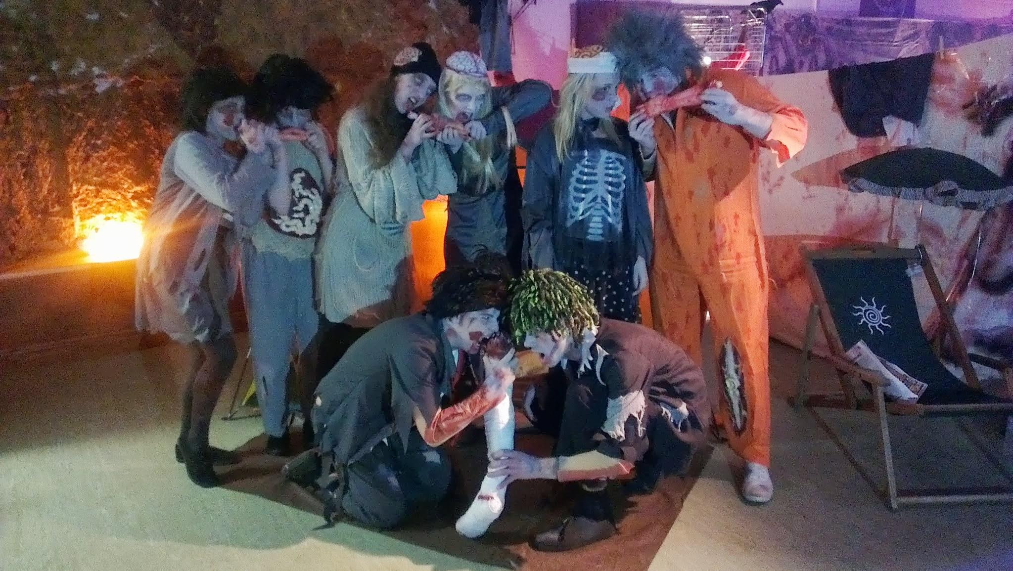 Phoenix Theatre's Walking Dead zombie performers