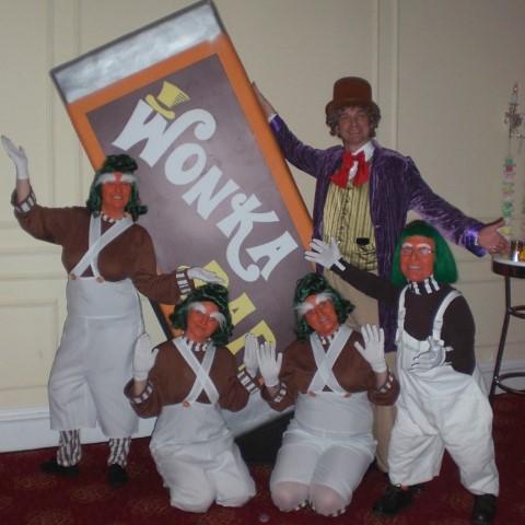 Willy Wonka & Oompa-Loompas