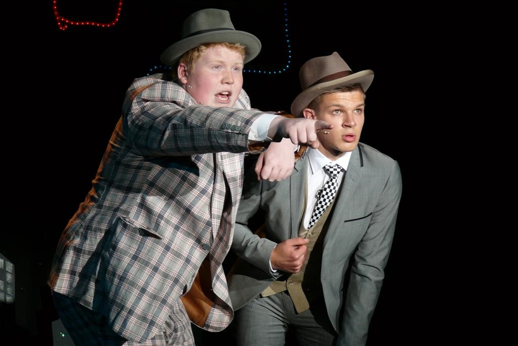 Nicely and Benny in Phoenix Youth Theatre's Guys & Dolls (2012)