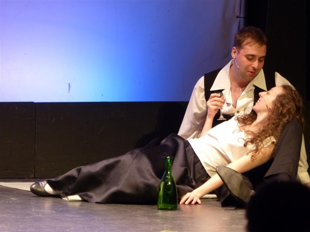 Chris performing in Phoenix Theatre's Sondheim classic 'A Little Night Music' (2013)
