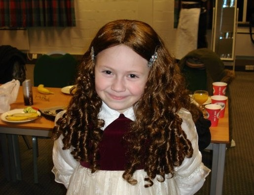 Lucy at a Phoenix Theatre Victorian Christmas event