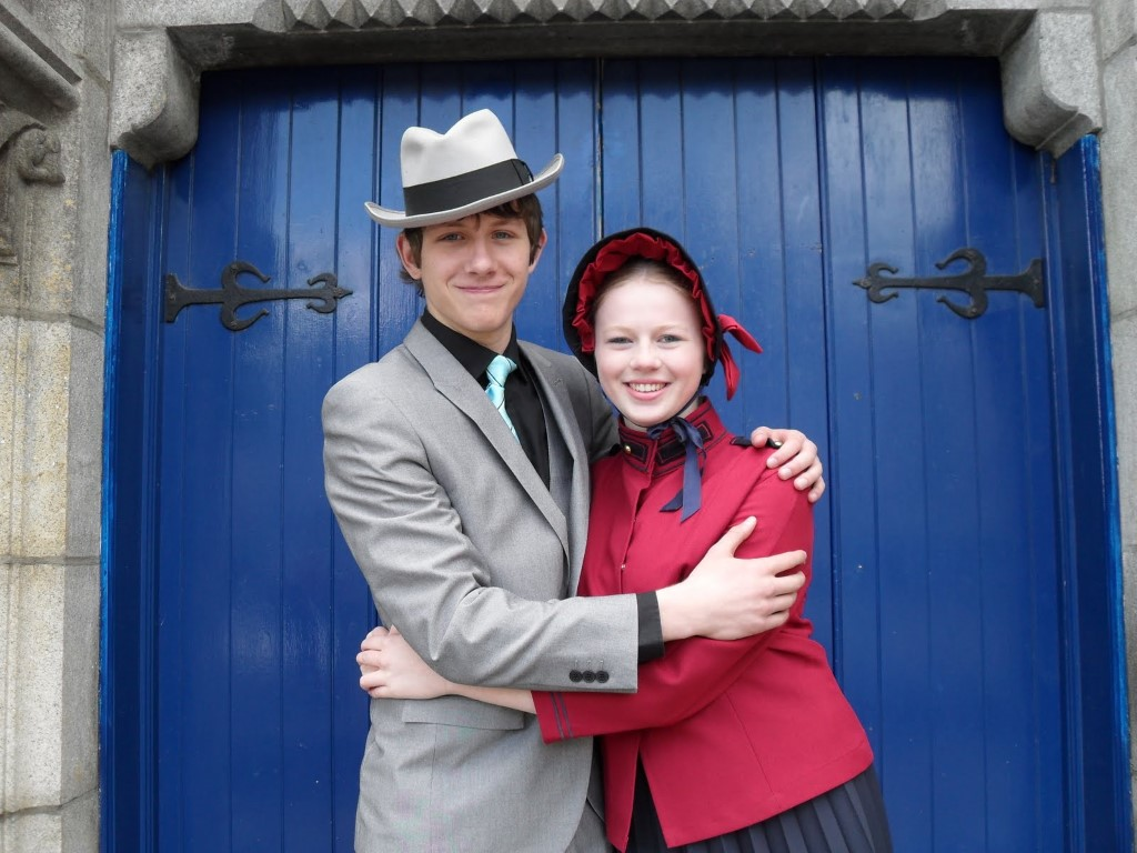 Thomas and Katy as Sky and Sarah in Phoenix Youth's Guys & Dolls (2012)