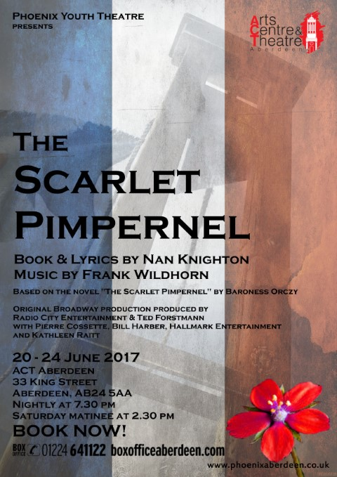Phoenix Youth Theatre's The Scarlet Pimpernel (2017)