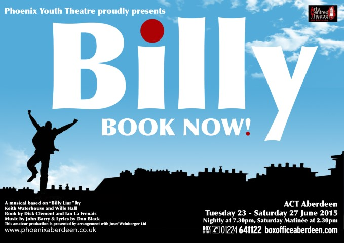 Phoenix Youth Theatre's Billy (2015)