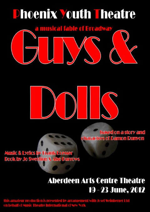 Phoenix Youth Theatre's Guys & Dolls (2012)
