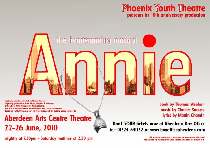 Phoenix Youth Theatre's Annie (2010)