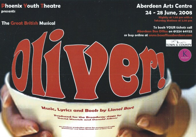 Phoenix Youth Theatre's Oliver! (2008)