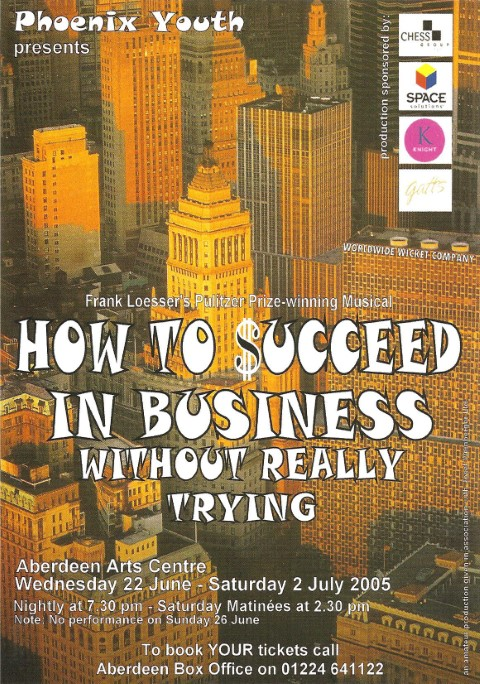 Phoenix Youth Theatre's How to Succeed in Business Without Really Trying (2005)