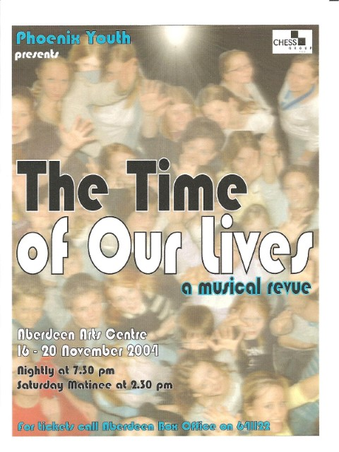 Phoenix Youth Theatre's The Time of Our Lives (2004)