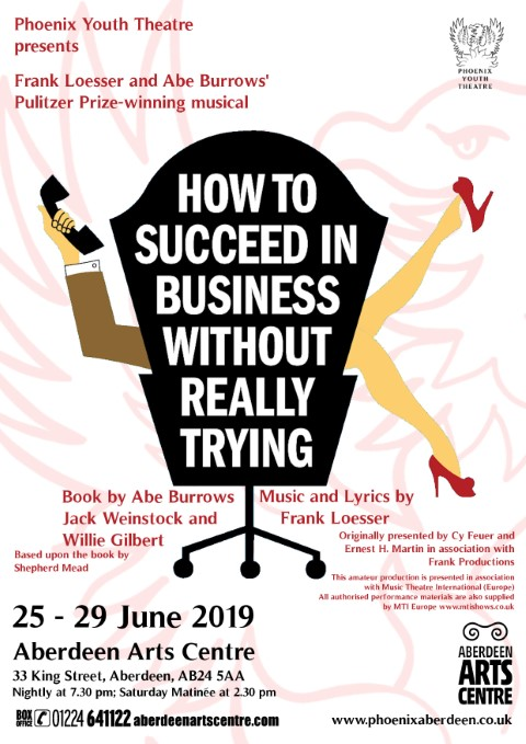 Phoenix Youth Theatre's How to Succeed in Business Without Really Trying (2019)