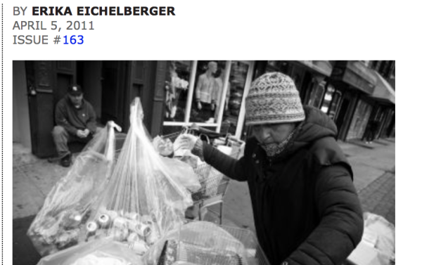 4/5/11 – The Indypendent – by Erika Eichelberger :  Scavenging the City