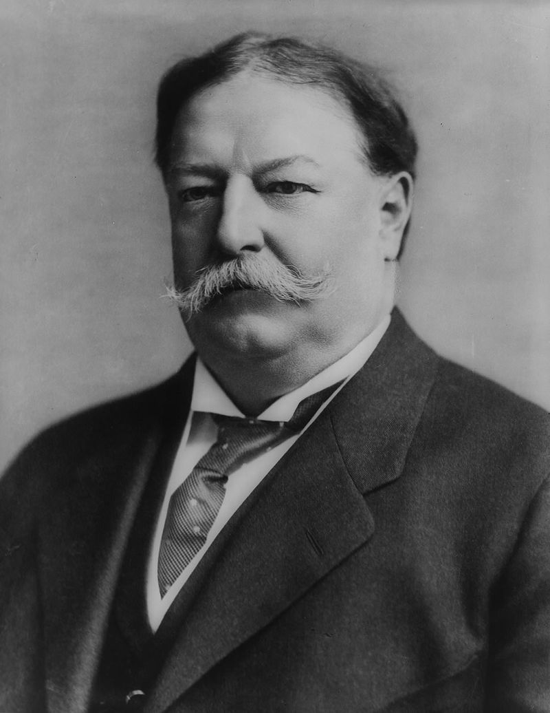 President William Howard Taft, 1908