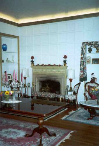 """Here is the """"Great Hall"""" before we started. It had been split into several rooms for an apartment. This was the living room part."""