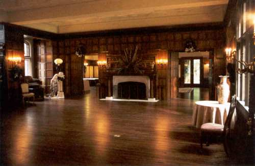 Here is the restored Great Hall, before furniture is added.