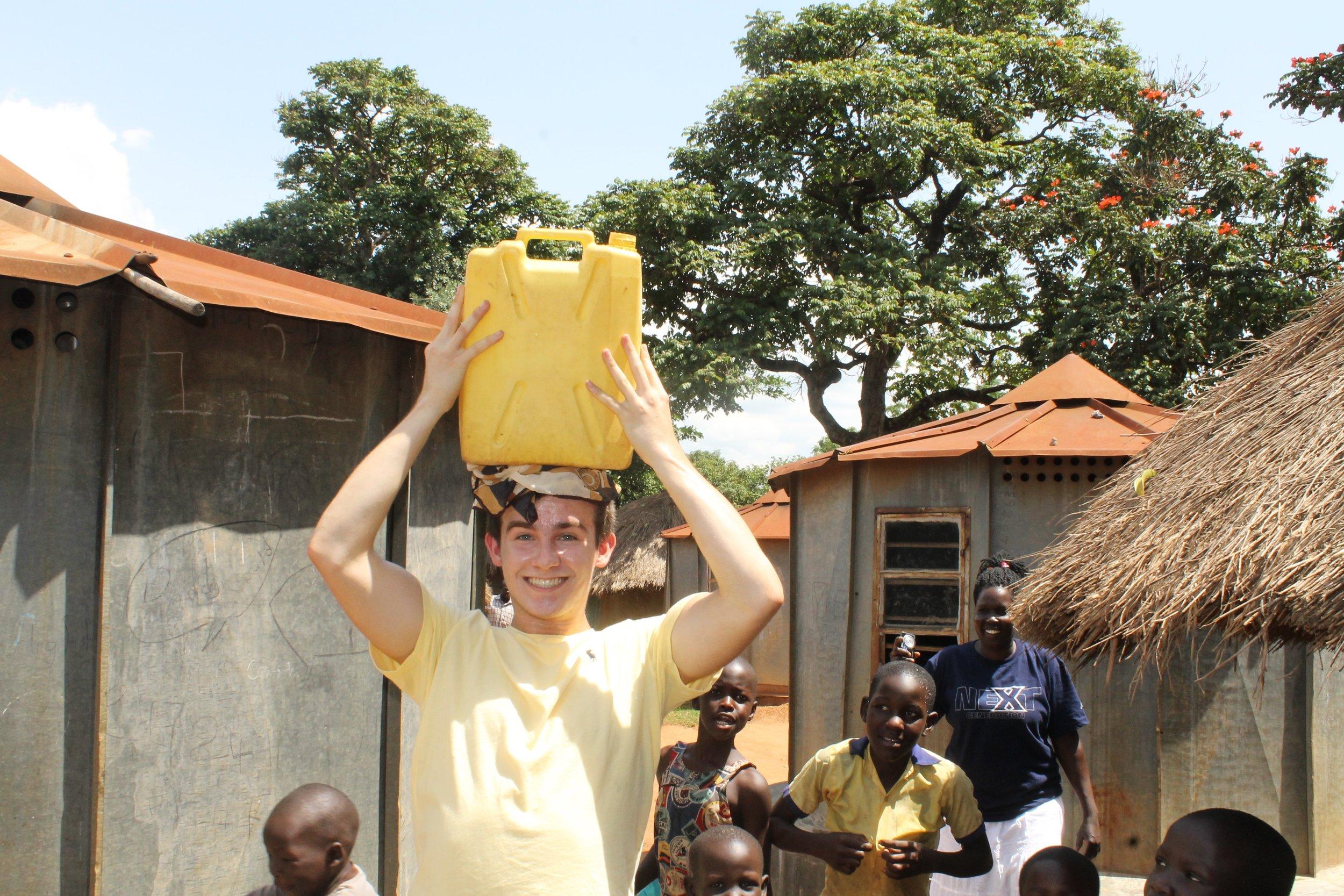 charlie water on head.jpg