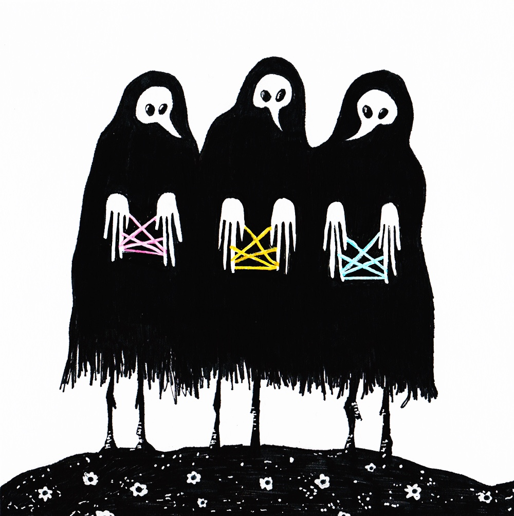 Death's Cradle / marker / April 2017