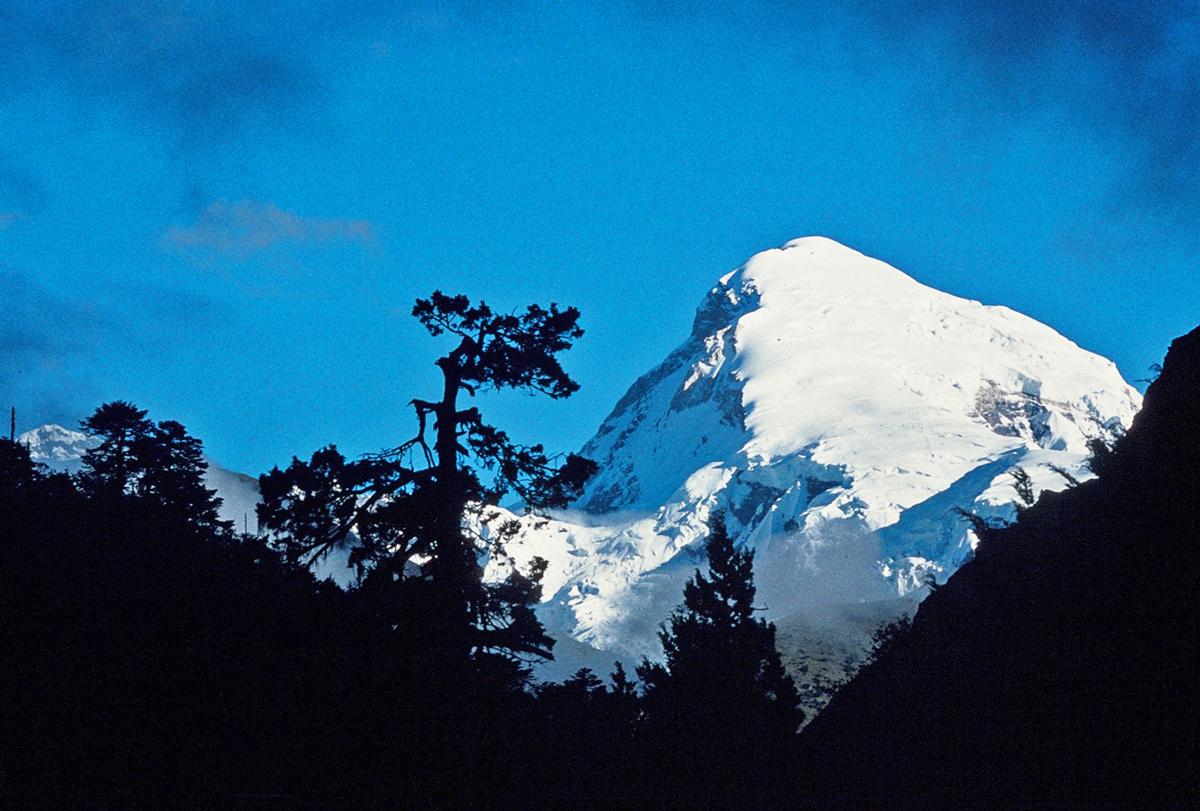 Mt. Chomolhari