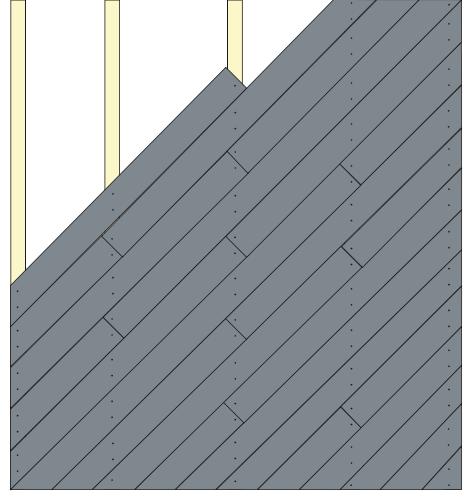 Diagonal Installation
