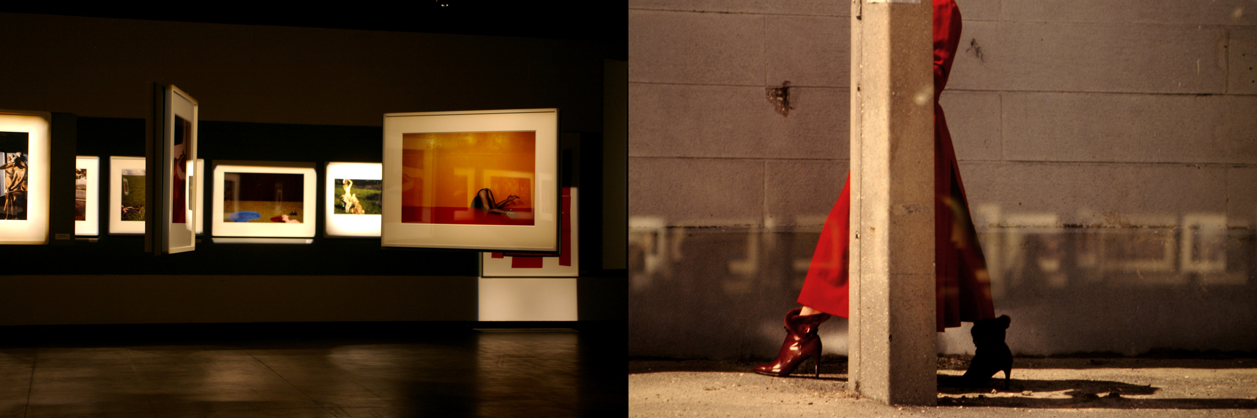 Gallery Pictures of Guy Bourdin's work.Picture by  Mariana Leme
