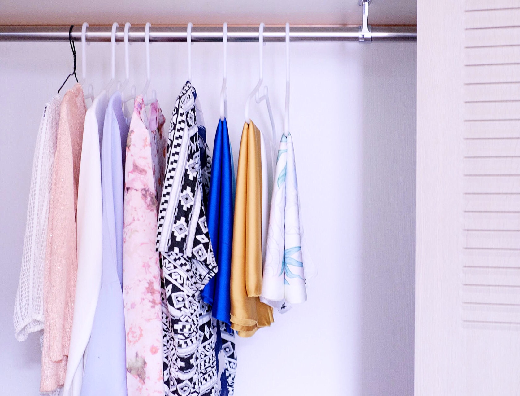 Organised closet keeps me zen. In my closet, there is items from  dUCk ,  Madeena ,  Shawlpublika  and Zalora.