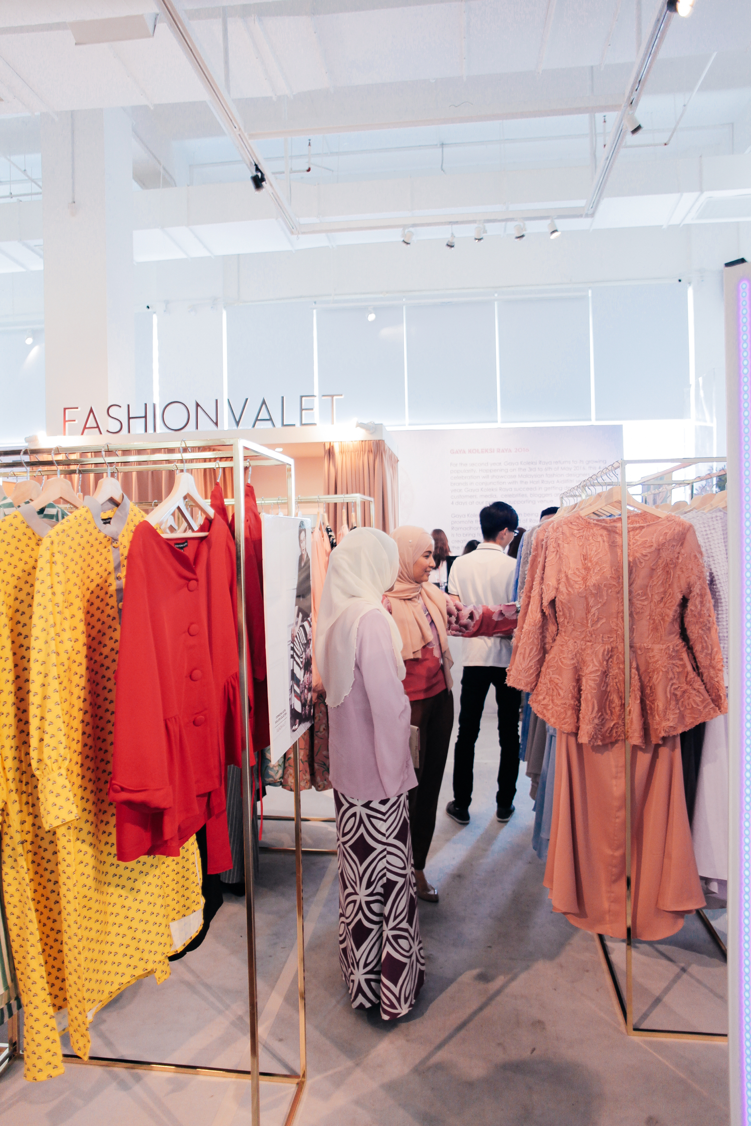 An increase in trend for Ready-to-wear Raya for hassle free shopping. Photo: C-creative