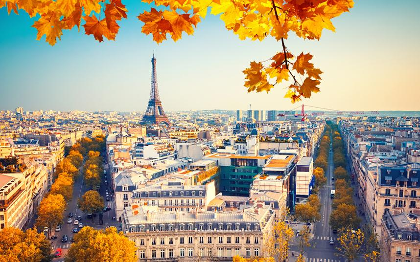 Breathtaking Picture of Paris, credit to  telegraph.co.uk