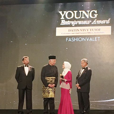 Vivy Yusof, who has shown us women can be entrepreneurial and create our own opportunities.