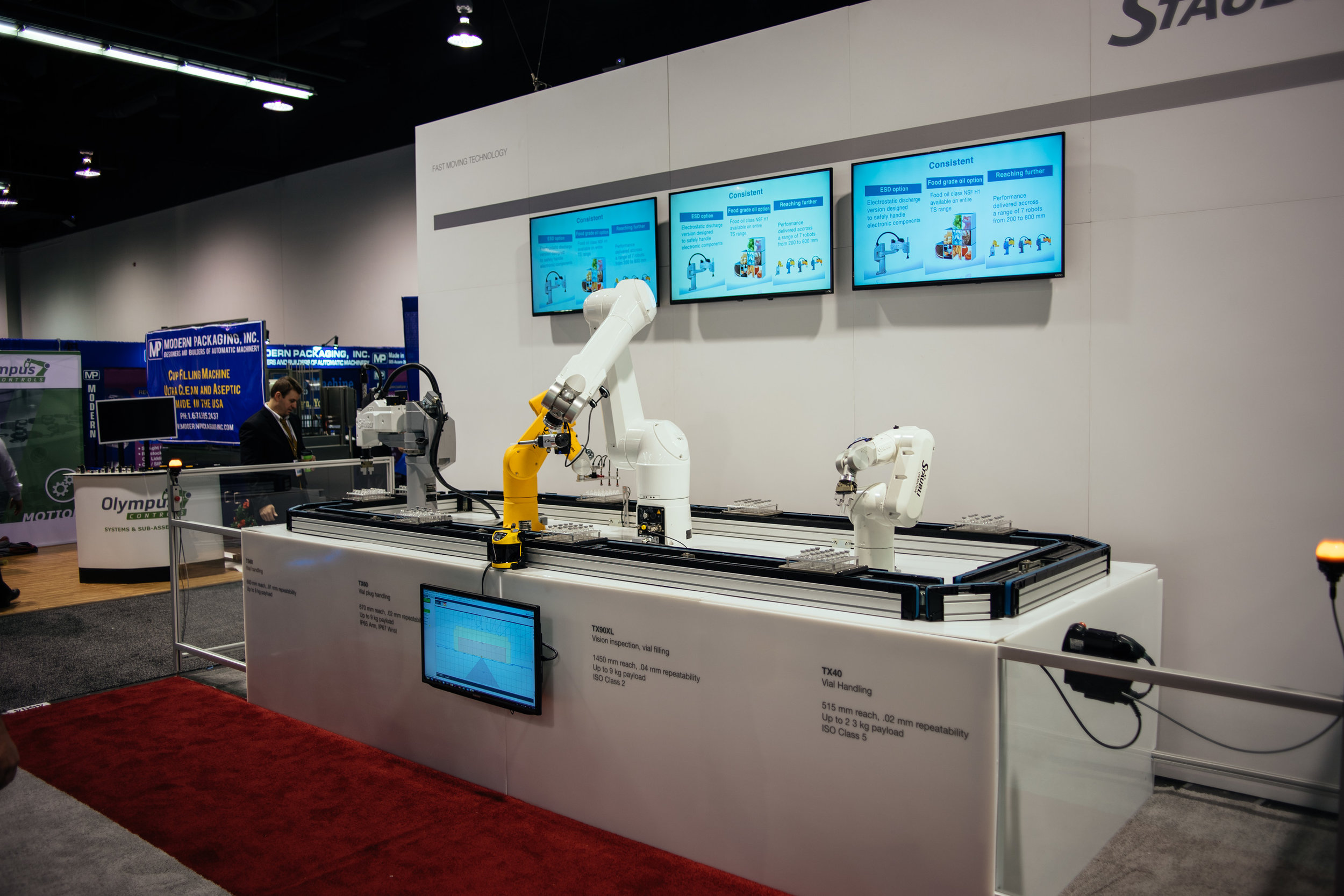 Robotic arms are advancing every year; cool to see the latest and greatest.